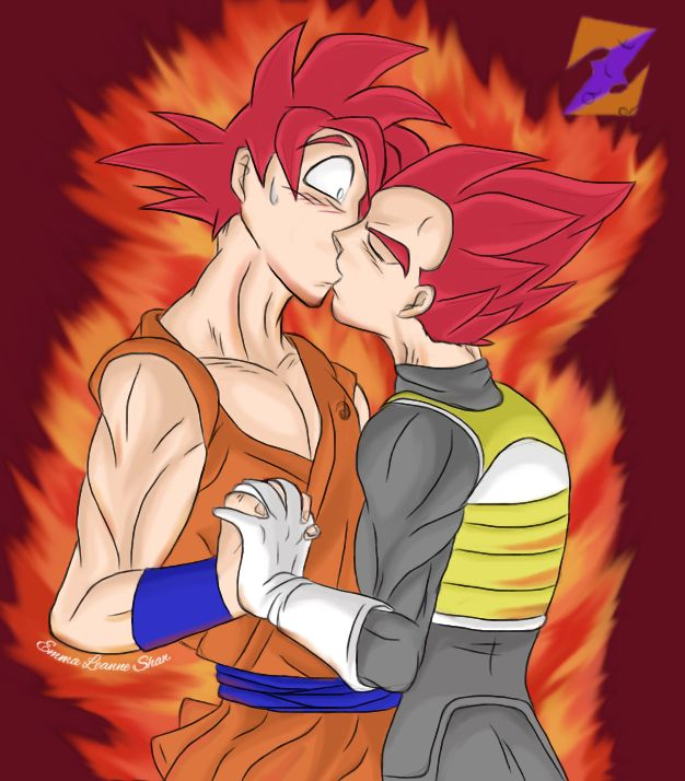 SSJGod Goku x Vegeta YAOI by ZorArt-DBZGTS