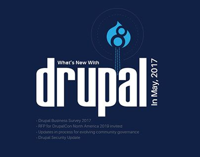 """Check out new work on my @Behance portfolio: """"Drupal News - May 2017"""" http://be.net/gallery/53570557/Drupal-News-May-2017"""