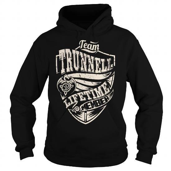 I Love Team TRUNNELL Lifetime Member (Dragon) - Last Name, Surname T-Shirt T shirts