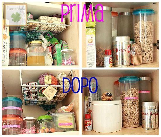 12 settimane per organizzarsi: la cucina