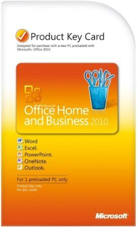 The freedom to do it all — at home, on the road or virtually anywhere work happens. That's Microsoft Office Home and Business, affordable tools that help you keep life and business in sync.  Price: $150.09