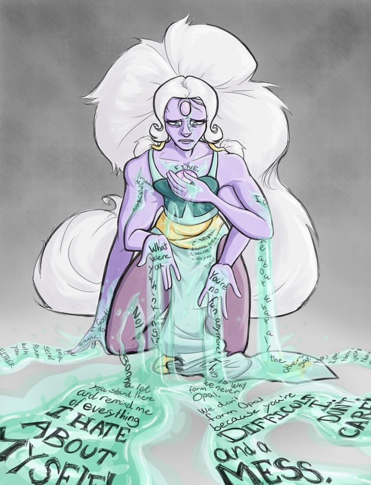 tap the pic for the theory!<<< expecially with the latest episode Opal would be a good solution