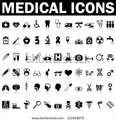 stock-vector-medical-icons-112929070.jpg (450×470)