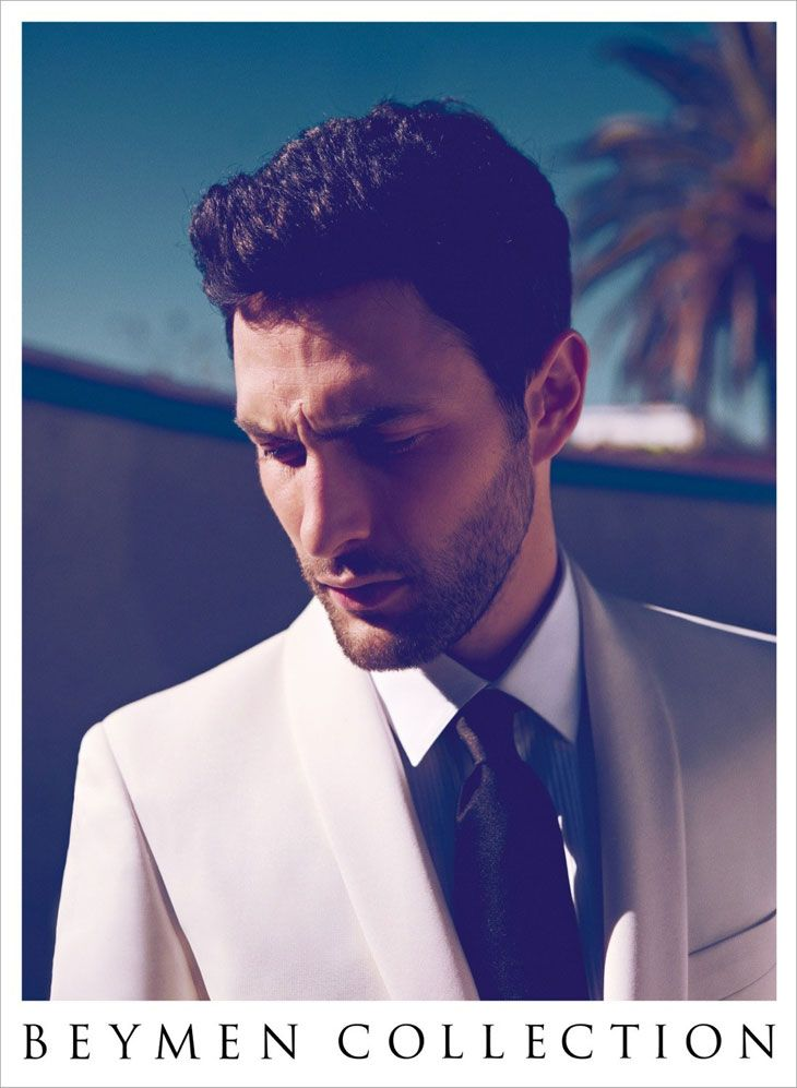 Noah Mills by Koray Birand for Beymen SS13