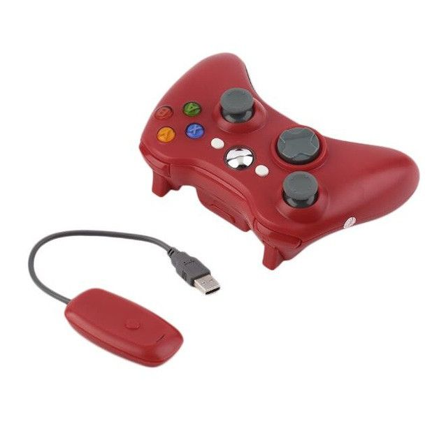 2.4G Wireless Gamepad Joypad Game Remote Controller Joystick With Pc Reciever For Microsoft For Xbox 360 Console