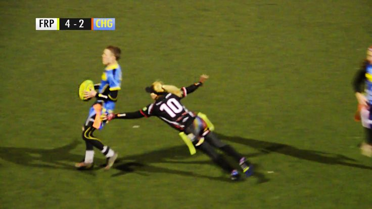 Tag Rugby Mixed Super League Round 4 (Spring 2015) - Freedom Pass v Chargers