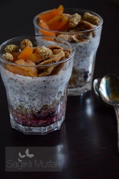 Çiya Puding (Chia Puding) – Sağlıklı Mutfak