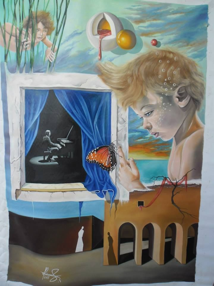 Mihai Adrian Raceanu, Painter from Romania #art #painter #painting #surrealism
