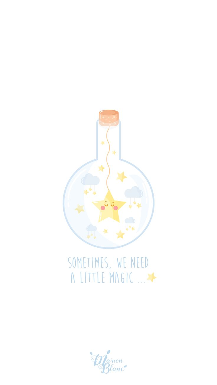 Sometimes, we need a little magic.. by Marion Blanc