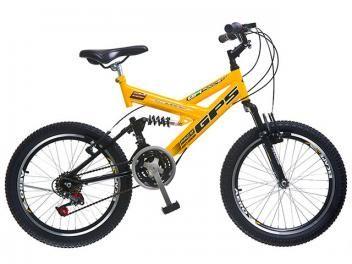 Bicicleta Colli Bike Aro 20 21 Marchas - Dupla Suspensão Freios V-brake