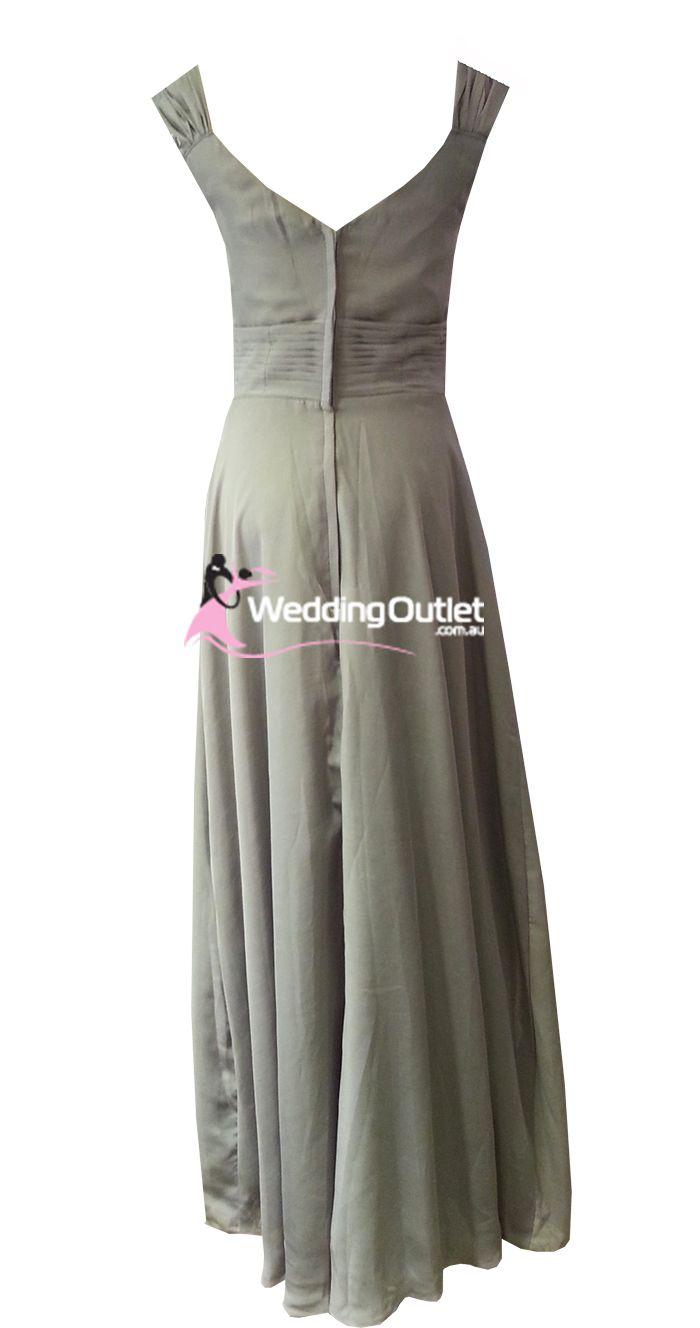 Silver Bridesmaid Dresses