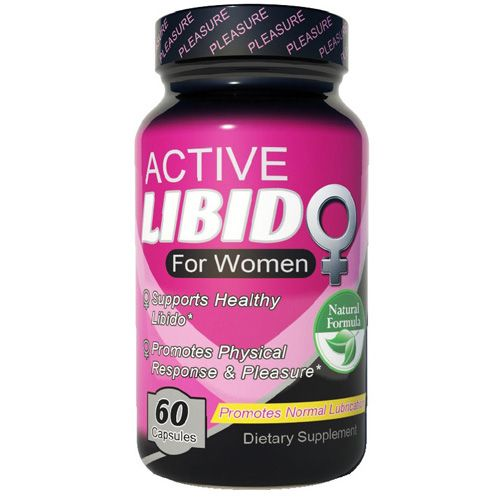 Fusion Diet Systems Active Libido – Women – 60 Capsules