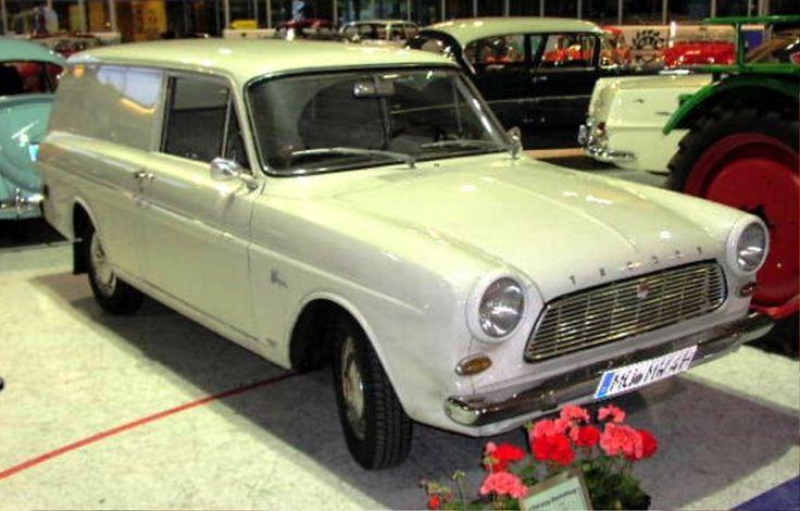 1964 Ford Taunus 12m (P4) Ticari