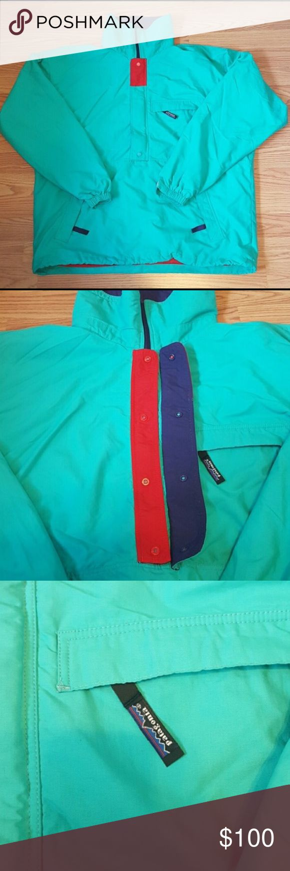 Vintage Patagonia Rain/Ski Jacket, Size L Vibrant Teal Patagonia Ski/Rain Jacket, Size L. In like-new condition. Would love to keep it, but it is just a little bit too big. Patagonia Jackets & Coats