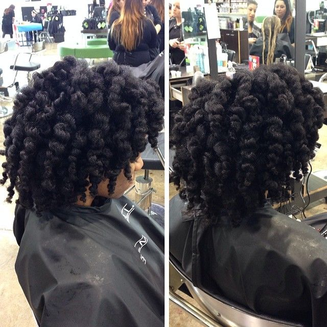 blow dry and bantu knot out beautiful natural hair pinterest