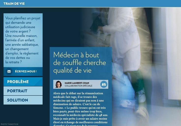 Médecin à bout de souffle cherche qualité de vie - La Presse+