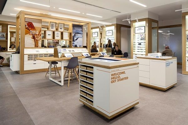 Design showcase: International store format for Luxottica - Retail Design World