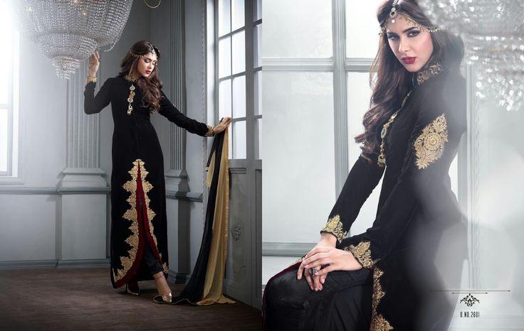 Gorgeous Black Salwar Kurta