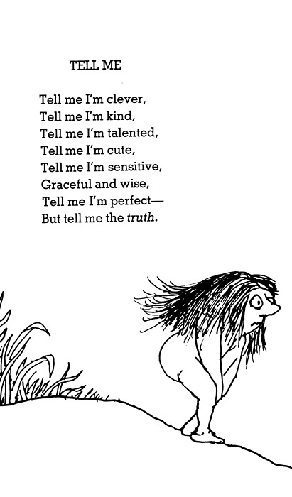 TELL ME. Shel Silverstein. (right, @Alan Craig Craig Craig Craig Craig Macfarlane  ?)