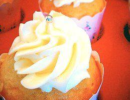 Vanilla Cupcakes and Creamy Cream Cheese Frosting by B.A.K.E.D, Perth WA