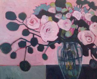 Annie O'Brien Gonzales#stilllifeart#annieobriengonzales#floral paintings