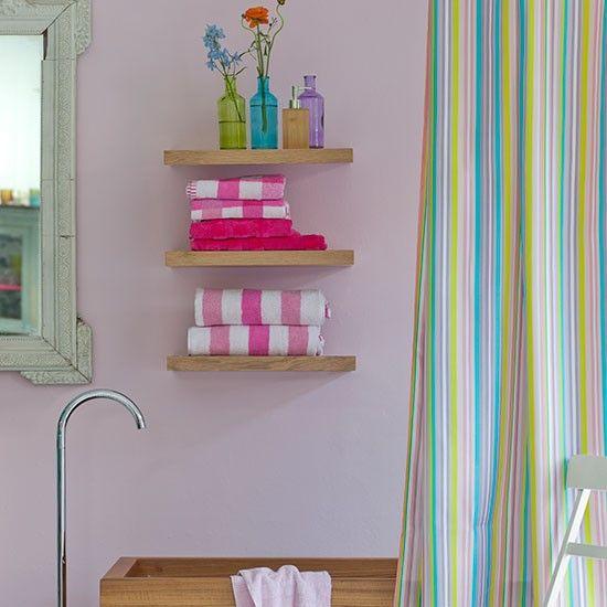 wilko pineapple shower curtain shelves small bathroom. Black Bedroom Furniture Sets. Home Design Ideas