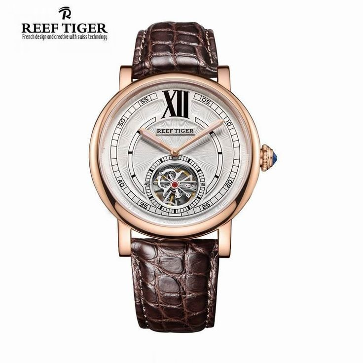 1000 ideas about designer watches for men louis reef tiger rt casual designer watch for men tourbillon automatic watch blue crystal crown