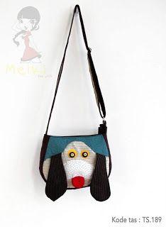 Tas handmade yang lucu dan unik yang menggambarkan karakter binatang kode tas Ts.189 dengan harga Rp 89.000  HP : 088801005134 / 087880958811 / Add PIN: 315BE3EC