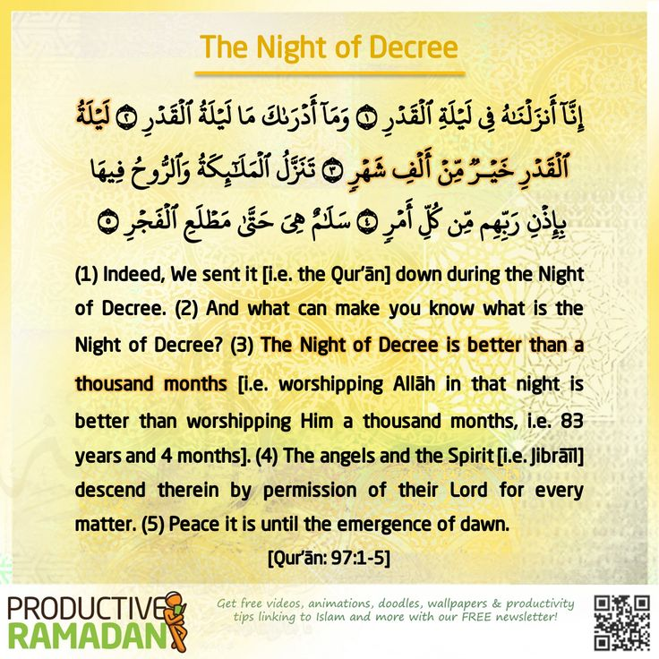 """When the last ten nights (of Ramadan) would begin, the Messenger of Allah (pbuh) would keep awake at night (for prayer and devotion), awaken his family and prepare himself to be more diligent in worship."" [Bukhari & Muslim] The best way of making the most of the last ten nights is to observe I'tikaf! The Messenger of Allah (pbuh) used to observe I'tikaf in the last ten days of Ramadan and say, ""Seek Lailat-ul-Qadr in the odd nights out of the last ten nights of Ramadan."" [Al- Bukhari]"
