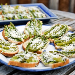 Asparagus Tartine | Recipes (Cooking & Baking) | Pinterest | Asparagus ...