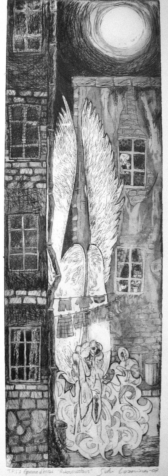 Etsaus ja akvatinta -09, Satu Laaninen