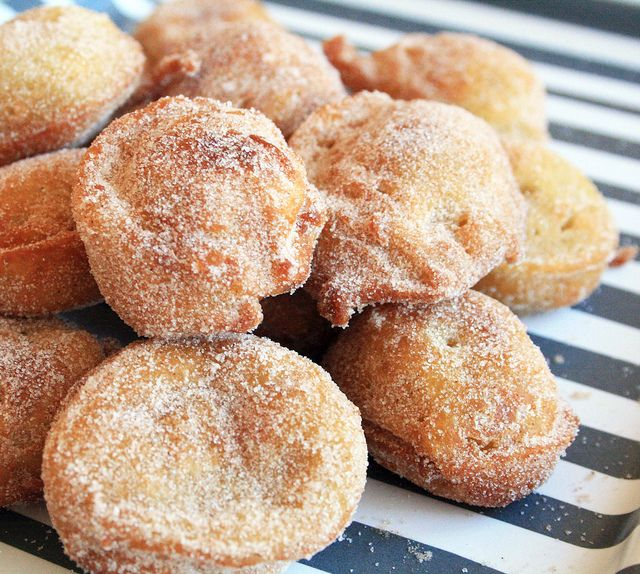 Zeppoles- fried Italian dough