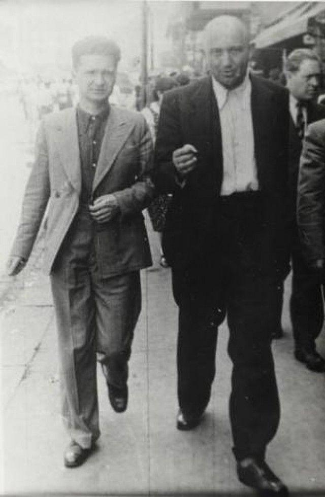Emil Cioran & Petre Tutea, Bucharest, 1930s.