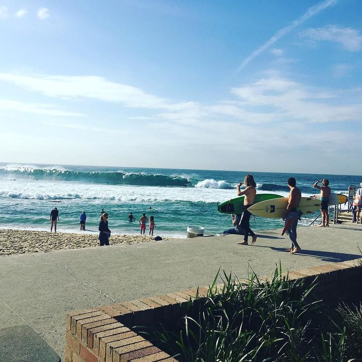 (Loc) Posted on May 21 2016 at 06:09PM by _amysansom_: Saw some big surf today enjoyed delicious baked eggs caught up with friends got my eyebrows waxed and tinted and scored an amazing leather jacket. Last weekend before I start my new job!! #brontebeach #sydney #nsw #saturday #weekend #sunshine #waves #surf #surfing #visitnsw #thisisliving #may #eggs #breakfast #life #love #happy #2016