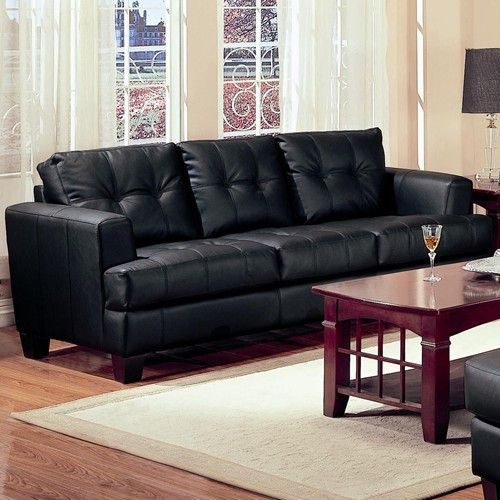 Black Modern Furniture best 25+ contemporary leather sofa ideas on pinterest | dark brown