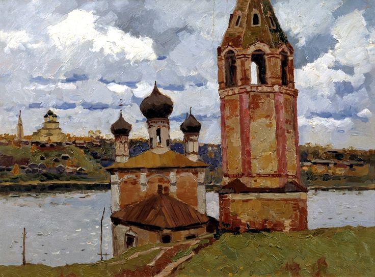 В. Ф. Стожаров. г. Тутаев. 1970
