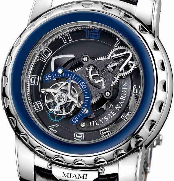 "Luxury Swiss watch manufacturer Ulysse Nardin is unveiling a timepiece specifically made for the South Florida watch enthusiast inscribed with the name of the city, ""Miami"" or ""Boca Raton."" The Boutique Freak Diavolo is part of the iconic and innovative Limited Edition Boutique Collection and will be limited to 10 pieces."