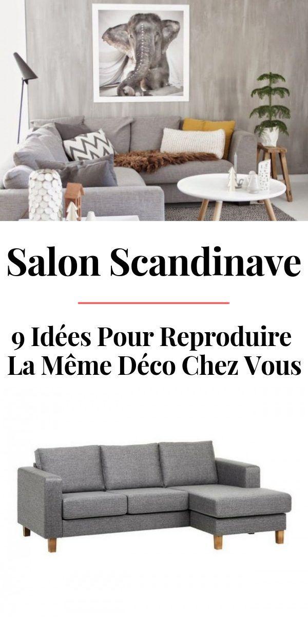 La Même Déco : Un Salon Scandinave Gris