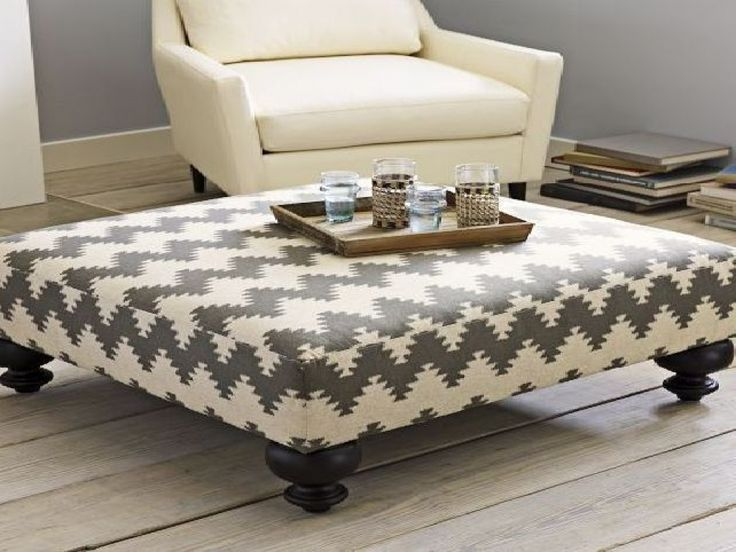 Best 25+ Upholstered ottoman coffee table ideas on Pinterest | Upholstered  footstool, Antique coffee tables and Garage stools - Best 25+ Upholstered Ottoman Coffee Table Ideas On Pinterest
