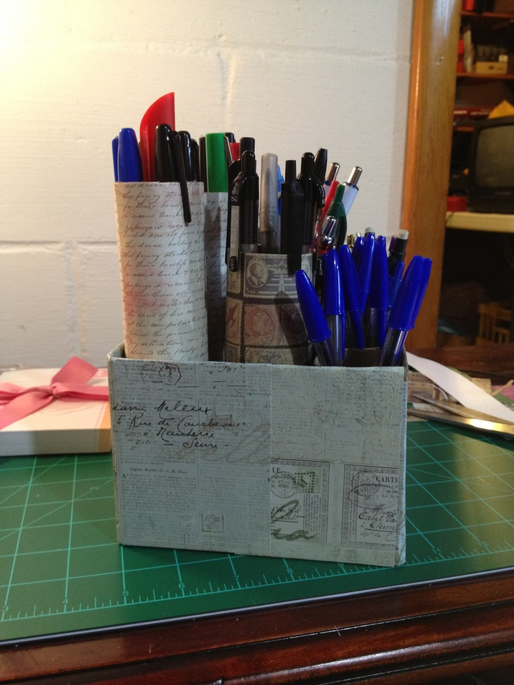 Pen and sharpie organizer