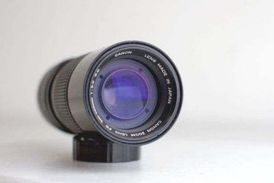 Canon Zoom Lens Fd 100 200mm F 5 6 With Caps Legacy Lens For Canon Ae 1 A 1 F 1 And All Fd Moun Canon Lens Canon Zoom Canon Zoom Lens