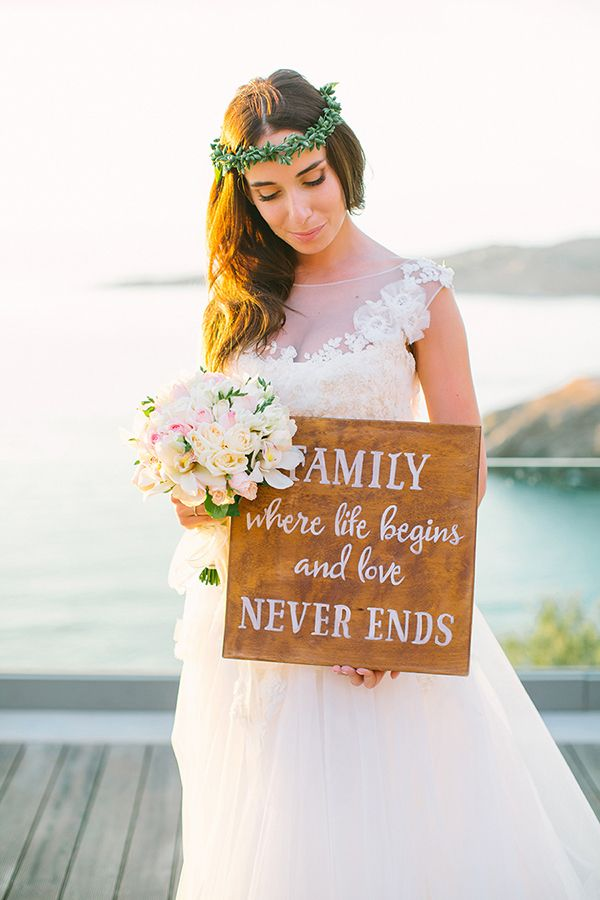 Romantic destination wedding in Greece  See more on Love4Wed  http://www.love4wed.com/romantic-destination-wedding-greece/  Photography by ANNA ROUSSOS PHOTOGRAPHY   http://www.annaroussos.com/