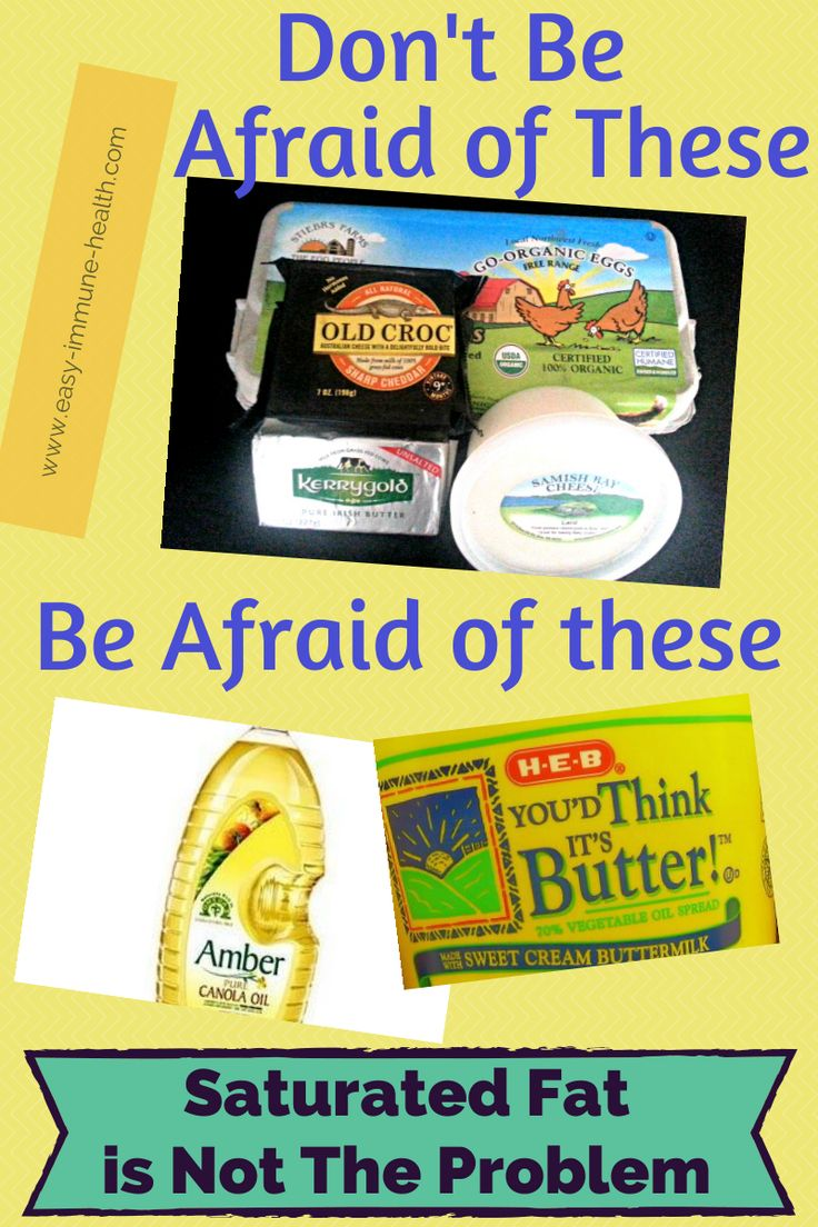 People are afraid of saturated fats, but they shouldn't be. What they SHOULD be afraid of are vegetable oils: http://www.easy-immune-health.com/dangers-of-saturated-fat.html