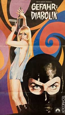 Danger Diabolik #movie #poster 1968
