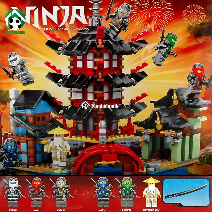 Ninja Temple of Airjitzu Ninjagoes Smaller Version Bozhi 737 pcs Blocks Set Compatible with Lego Toys for Kids Building Bricks-in Blocks from Toys & Hobbies on Aliexpress.com   Alibaba Group