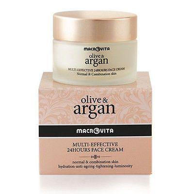 MACROVITA NEW Olive & Argan Oil Antiwrinkle 24Hours Face Cream 50ml