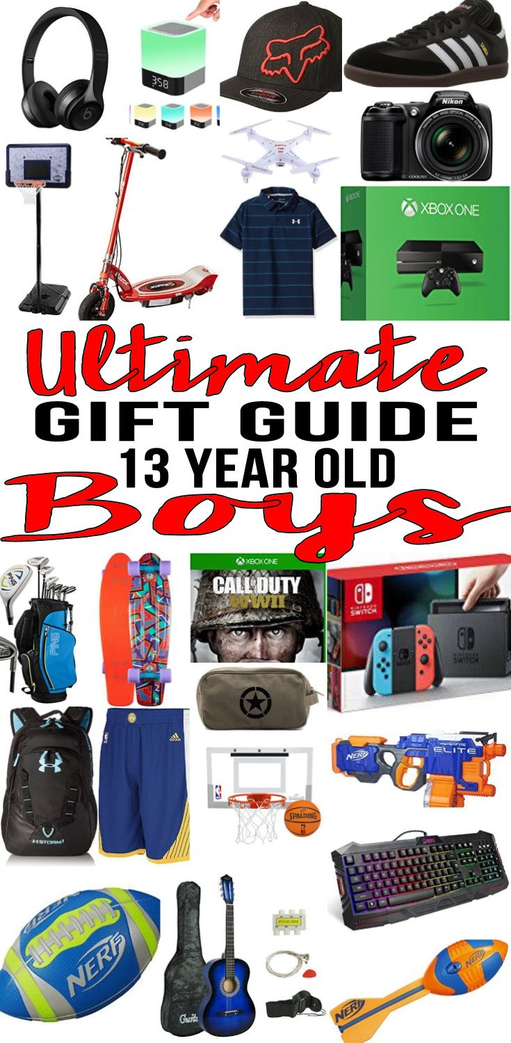 good christmas presents for 13 year old boys