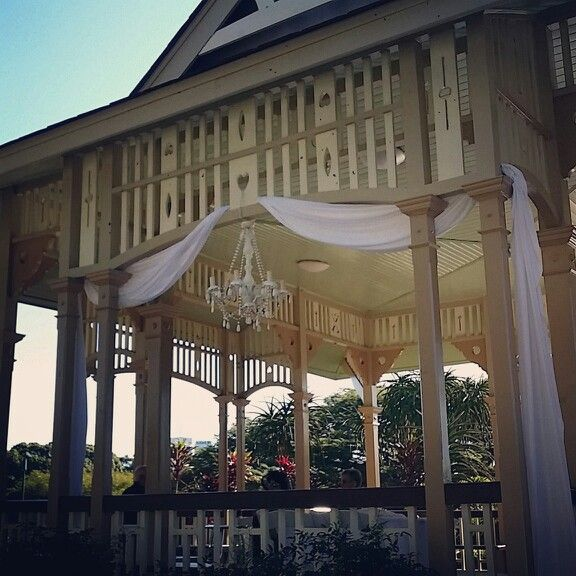 Brisbane Wedding Decorators Love Creating Our Beautiful Rotunda Ceremony Package At The Iconic Site New Farm Park Ww