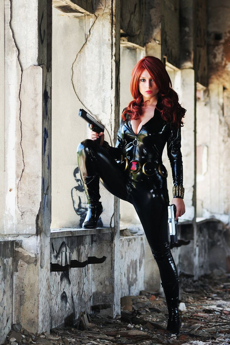 Black Widow Cosplay: Girls, Guns, Awesome Cosplay, Totally Spy, Giorgia Cosplay, Black Widow Cosplay, Black Widowelectra, Avengers Black Widow, Comicbook Cosplay