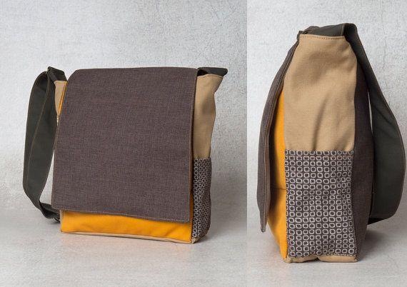 eco bag, eco friendly bag, canvas bag, shoulder bag, crossbody bag, college student gift, boyfriend gift, gifts for him